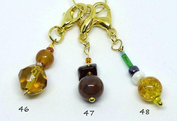 Marqueurs de maille, perles 46-47-48
